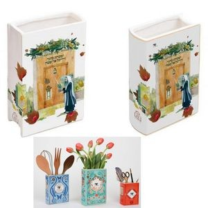 Ceramic Vases Flower Vase Kithcen Holder Desk Organizer